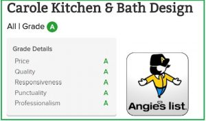angies 2017 a rating carole kitchen and bath